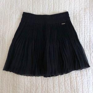 Hollister Pleated Chiffon Skirt